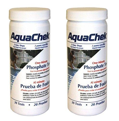 2 PACK - Aquachek one minute Phosphate Pool & Spa Test - 562227 ()