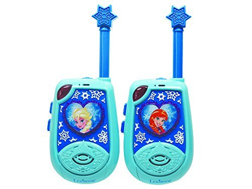 Lexibook TW25FZ Frozen 3D Walkie-Talkies With 2 Km Coverage by LEXIBOOK