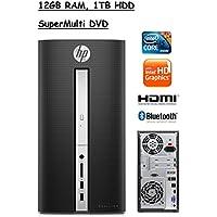 Flagship Model HP Pavilion 510 Premium High Performance Desktop, Intel Core i5-6400T, 12GB RAM, 1TB HDD, Windows 10