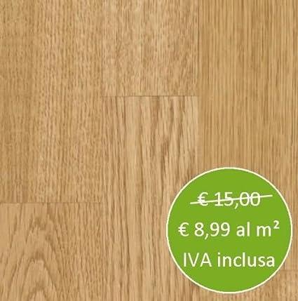 Pavimento Laminato Rovere Naturale Confezione da 2,47 MQ - 10 Pannelli
