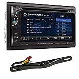 "Best POWER ACOUSTIK Backup cameras - Power Acoustik PH-620SXMB 6.2"" Car DVD Bluetooth Receiver Review"