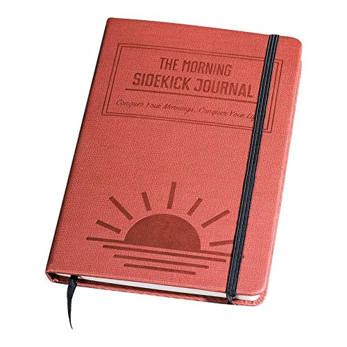 The Morning Sidekick Journal - Morning Habit Tracker! Create Your Perfect Morning Routine. A Science Driven Daily Planner for Building Positive Life Habits. (Sunrise red.)