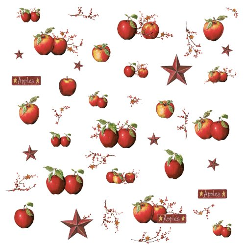 Country Apples Peel & Stick Wall Decals