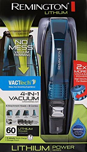 Remington VPG6530 Lithium Power Series 4 In 1 Vacuum Trimmer, Blue by Remington (Image #6)