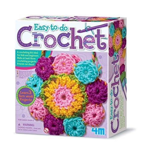 4M 3625 Easy-To-Do Crochet Kit -...