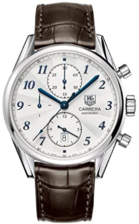 ed681ff351e Image Unavailable. Image not available for. Color  Tag Heuer Carrera  Heritage Chronograph Men s Watch ...
