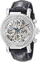 Chronoswiss Men's CH-7543S/11-1 Sirius Analog Display Automatic Self Wind Black Watch