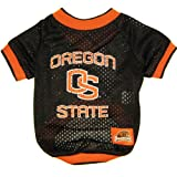 Oregon State Beavers Dog Jersey Leash & Collar Set Small