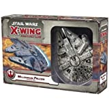 Star Wars X-Wing 1st Edition Miniatures Game Millenium Falcon EXPANSION | Strategy Game for Adults and Teens | Ages 14+ | 2 P