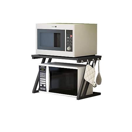 Cocina Horno de microondas Racks de 1 Capa 2 Capas Rack de ...