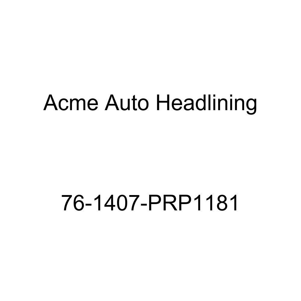 1976 Chevrolet Caprice and Impala 4 Door Sedan Acme Auto Headlining 76-1407-PRP1181 White Replacement Headliner 5 Bow