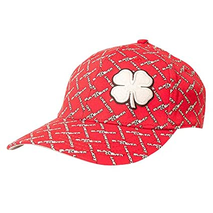 Black Clover Live Lucky Golf Hat Chain Link Red Black White S M or L You  Choose 7a09ff92849