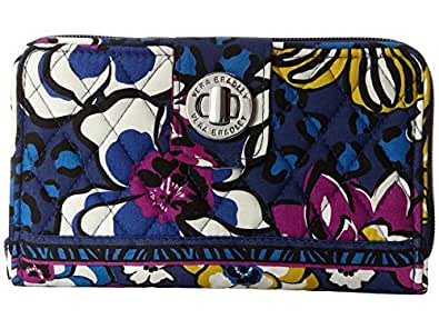 Vera Bradley Turn Lock Wallet (African Violet)