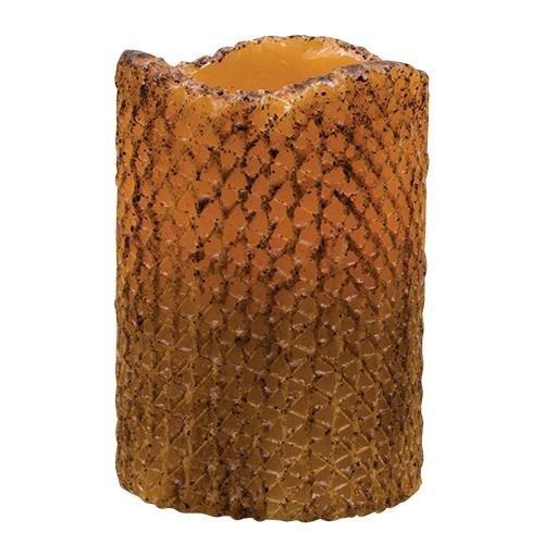 Heart of America Mustard Honeycomb Timer Pillar