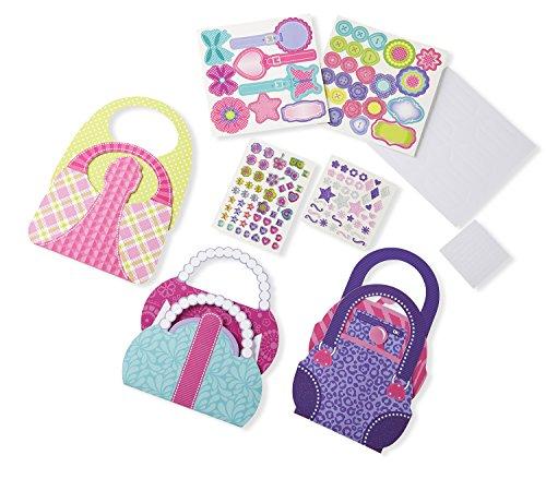 Melissa & Doug Simply Crafty Precious Purses Craft Kit (Makes 3 Purses) (Purse Craft)