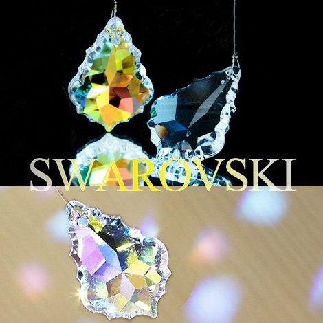 【SWAROVSKI ELEMENTS] 虹色の光☆サンキャッチャー スワロフスキーエレメンツ 風水 ラッキーアイテム (オーロラ)