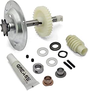 Gear and Sprocket Replacement Kit for Liftmaster 41c4220a, fits Chamberlain, Sears, Craftsman 1/3 and 1/2 HP Chain Drive Models (Chain Drive Gear and Sprocket Kit)