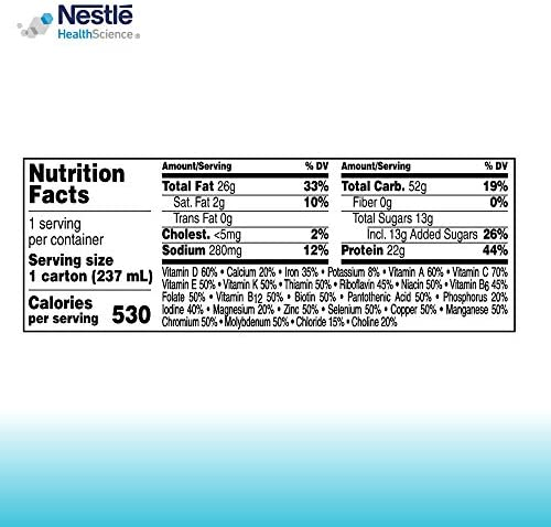 BOOST Very High Calorie Complete Nutritional Drink, Very Vanilla, 8 Ounce Box (Pack of 27) 7