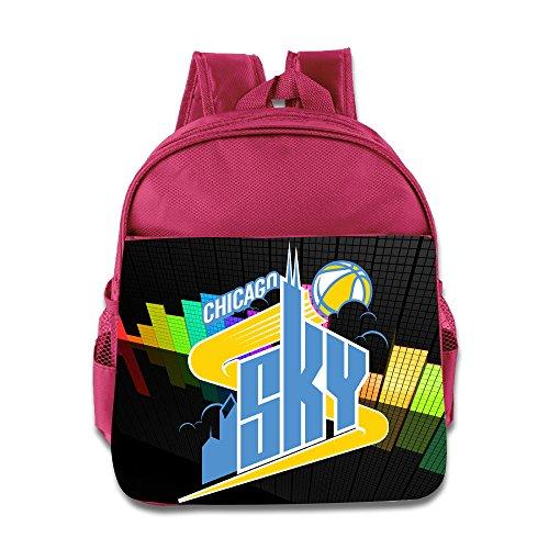 Elena Delle Donne Chicago Sky Wmvp Children School Pink Backpack Bag