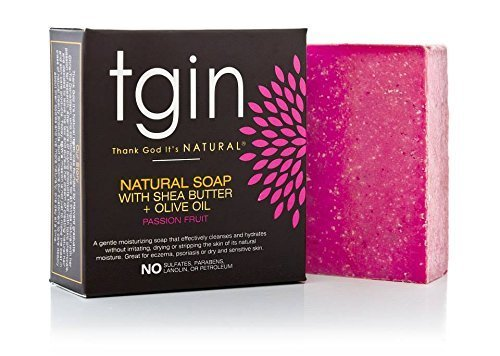 (tgin Olive Oil Soap- 4oz Passion Fruit by tgin (Thank God It's Natural))