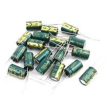 uxcell® 18Pcs 25V 1000UF Aluminum Electrolytic Capacitors 105 degree Celsius 10x17mm