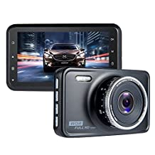 Car Camera Recorder ViiVor Dash Cam 1080P FHD Car Video Recorder 140°Wide Angle WDR Camera with G-Sensor Motion Detection Loop Recording Parking Monitor