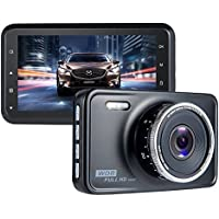 Dash Cam FHD ViiVor 1080P Car DVR Driving Recorder Dashboard Camera with Motion Detection Parking Guard G-Sensor and Loop Recording with 140 Degree Wide Angle