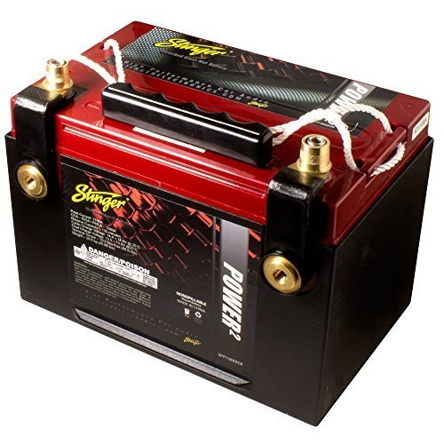 Stinger SPP1500DCR 1500 Amp SPP Series Dry Cell Battery with Protective Steel (Dry Cell Car Audio Battery)