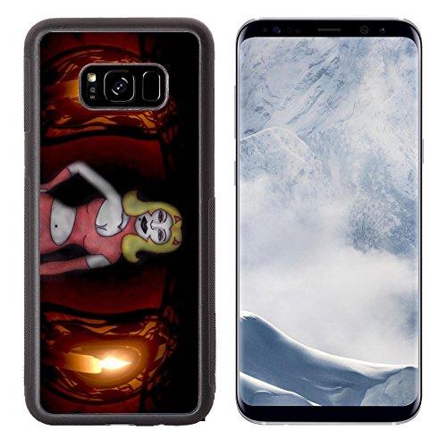 Liili Premium Samsung Galaxy S8 Plus Aluminum Backplate Bumper Snap Case ID: 23015506 Diablesa and candles -