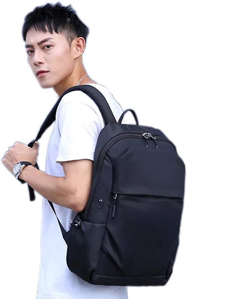 Backpack for Men Waterproof Travel Bag Large Capacity Black Shoulder Bag Outdoor