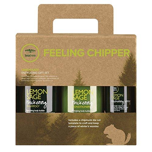 Lemon Sage Thickening Shampoo (10.14 Oz), Conditioner (10.14 Oz) & Thickening Spray
