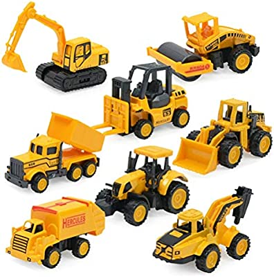 Amazon Com Odowalker Sand Box Toys Cute Mini Cars Assorted