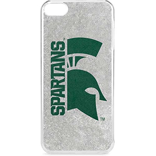 Michigan State University iPod Touch 6th Gen LeNu Case - Spartans MSU Logo Half Lenu Case For Your iPod Touch 6th Gen ()