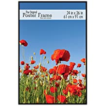 MCS 23446 24 by 36-Inch Original Poster Frame with Strong Pressboard Backing Back, Black