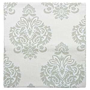Elite Barn Damask Majestic Classic Jacquard Cushion Cover - Green, 47 x 44 cm
