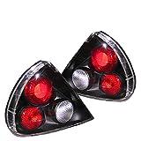 Spyder Auto Mitsubishi Mirage Black Tail Light
