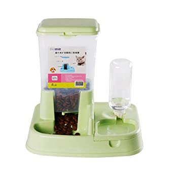 Dispensador automático del alimentador del animal doméstico Dispensador del agua del gato Cat Dog Kitty Supplies