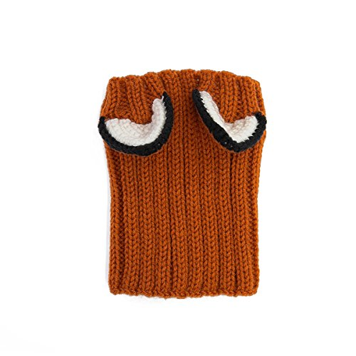 Zoo Snoods - The Original Knit Fox Dog Snood - Funtober