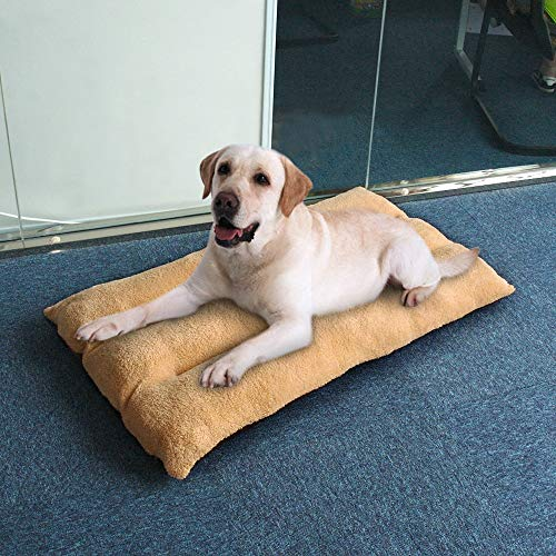 1 PC Large Dog Bed Warm Pet Puppy House Cushion Soft Kennel Nest Sofa Mat Blanket for Medium Large Dogs Golden Retriever Labrador Big Size S