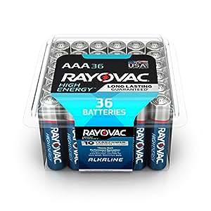 Amazon.com: Rayovac AAA Batteries, Alkaline Triple A