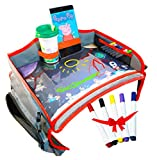 Kids Car Seat Travel Tray, Play Tray, Toddler Travel Tray 16.5 x 13.9 by Little Explorer
