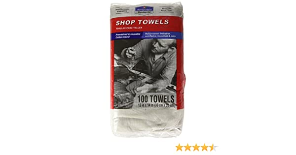 Amazon.com: Members Mark Commercial Shop Towels - Red or White: Home & Kitchen