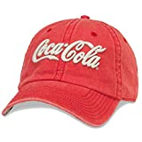 American Needle Men's Coca-Cola Raglan Hat, Red (RED/RED), One Size