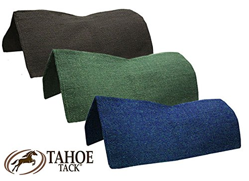 Tahoe Tack Contoured Horse Saddle Blanket New Zealand Wool