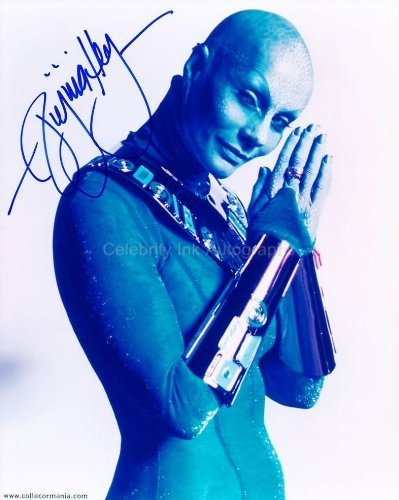 VIRGINIA HEY as Pa'u Zotoh Zhaan - Farscape Genuine Autograph from Celebrity Ink