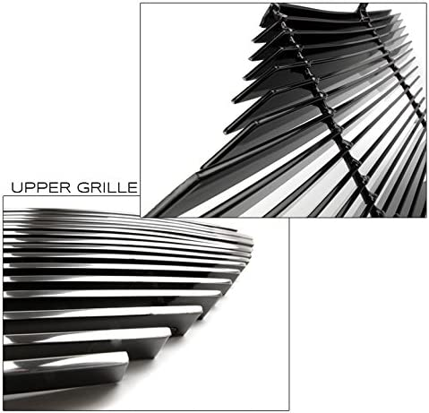 Bumper Billet Grille Grill Insert Combo Set For 2007-2009 Toyota Camry LE ZMAUTOPARTS Upper