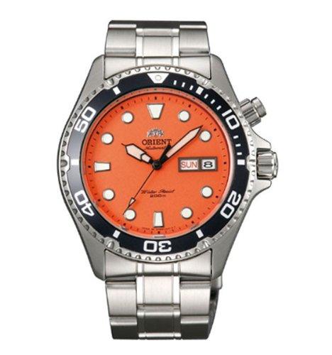 Orient - Reloj de pulsera hombre, acero inoxidable, color plateado: Amazon.es: Relojes