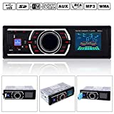 FidgetFidget Auto Car Stereo Audio In-Dash FM Aux Input Receiver SD USB MP3 FLAC Radio Player