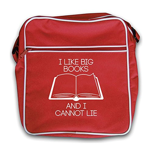 Bag Retro Books Like I Red Big Flight red wxHTnZqP