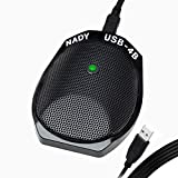 Nady USB-4BM Vocal Condenser Microphone for Mac and PC Computers, Multipattern